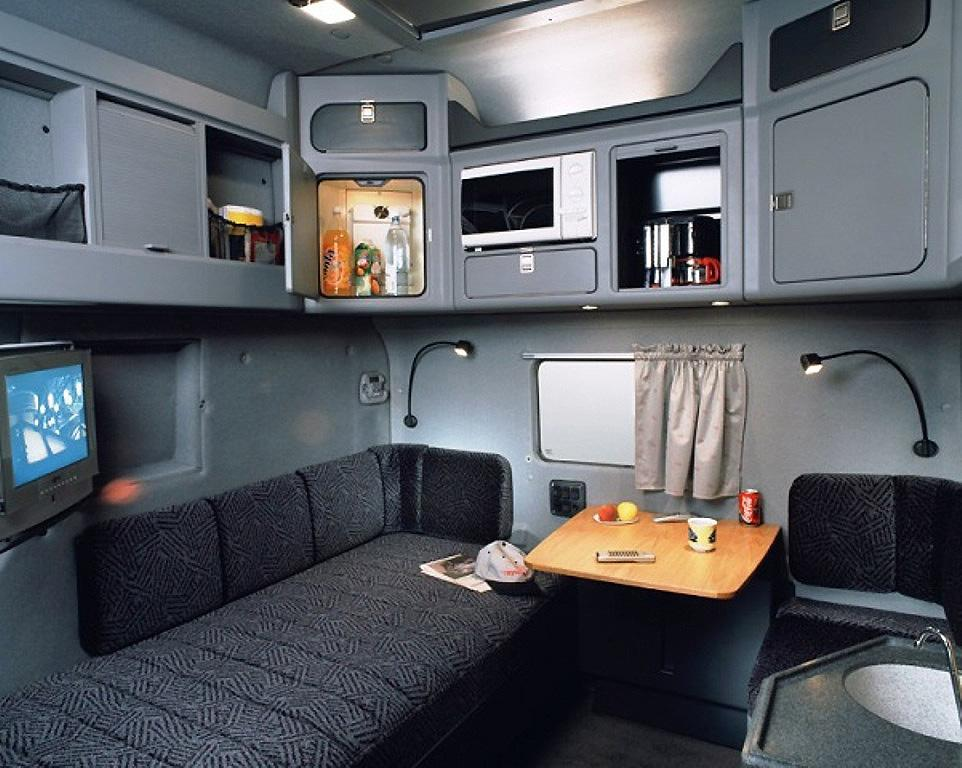 What The Best Dressed European Sleeper Cab Should Look Like Inside At Least According To