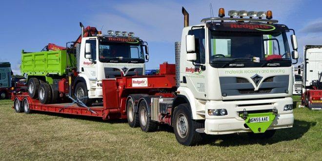 picture post redgate fodens at kelsall steam rally by christopher